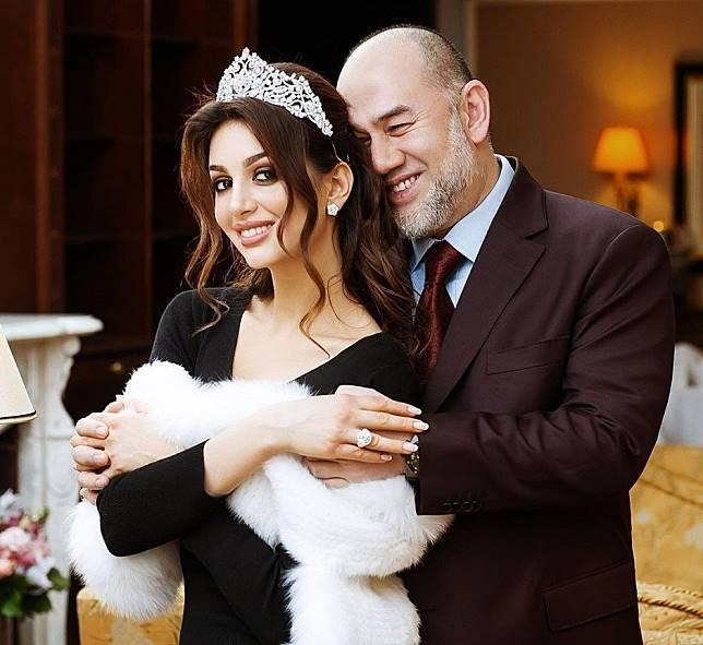 Has Malaysian Sultan Muhammad V divorced his Russian wife Oksana Voevodina?