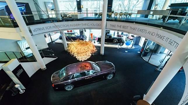 Rolls-Royce Phantom VII seri II, dalam sebuah showroom di Berlin, Jerman. Sebagai ilustrasi [Shutterstock].