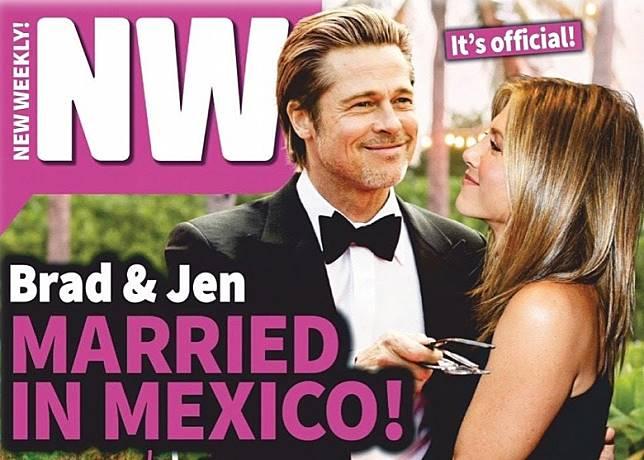 有傳畢彼特與珍妮花再婚。