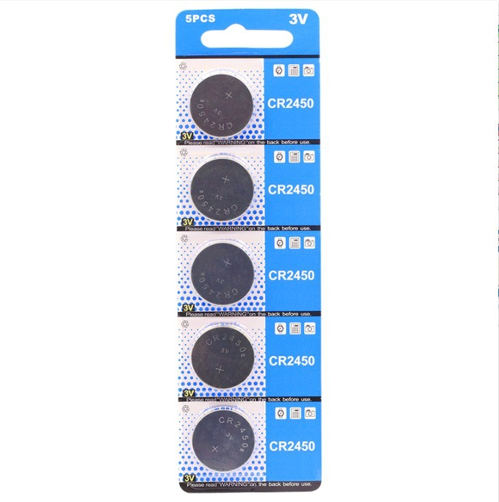 CR2450標準電壓:3,3V(v)額定容量:高容量外型尺寸:24.5*5.0(mm)⚡體積超小,電力超強⚡續航力強強強使用壽命長長長鈕扣電池 水銀電池可用於手錶,主機板,照相機、遙控器請以五的倍數下