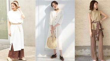 一條絲巾就讓造型立刻聚焦!日本女生今夏超流行的絲巾穿搭術看過了再試