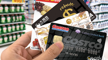 量販聯名卡天天血拼 Costco卡家樂福卡火拼