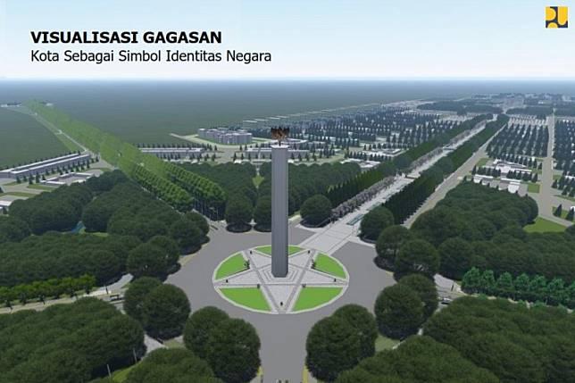 Ibu kota negara pindah ke Kalimantan Timur, ini desainnya