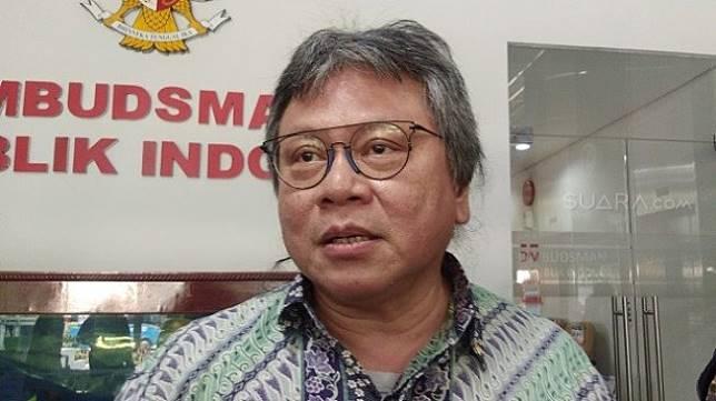 Anggota Ombudsman RI Alvin Lie. (Suara.com/Ria Rizki).