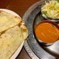 Bセット+チーズナン - 実際訪問したユーザーが直接撮影して投稿した新宿インド料理Indian Cuisine&Bar グランドダージリン 新宿店の写真のメニュー情報