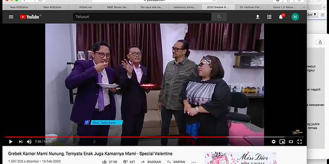 YouTube Ini Talk Show