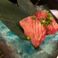 霜降り上タン塩 - 実際訪問したユーザーが直接撮影して投稿した歌舞伎町焼肉日暮里食肉問屋 おもに亭 新宿別館の写真のメニュー情報