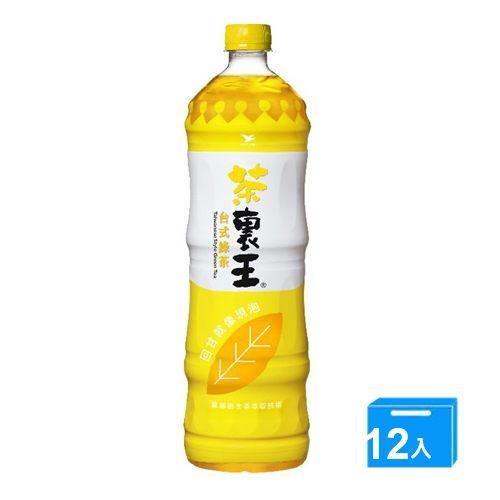 統一茶裹王-台式綠茶1250ml*12入(箱)【愛買】
