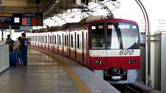 京急空港線來往羽田機場及京急蒲田之間,所有車站都位於東京都大田區。(互聯網)