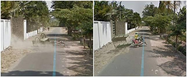 10 Momen apes terekam Google Maps, mau ketawa tapi kasihan