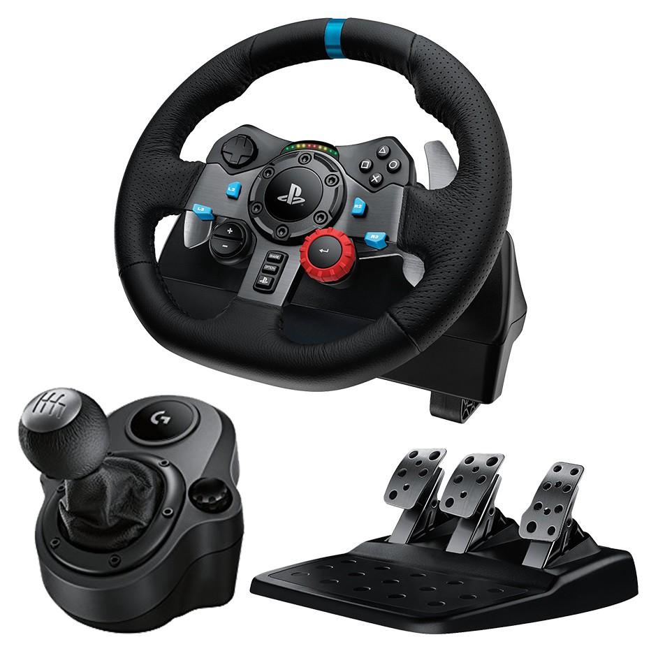 【商品內容如下】1. 羅技 G29 DRIVING FORCELogitech 賽車方向盤2. 羅技 G920 DRIVING FORCESHIFTER 排檔桿G29 遊戲方向盤專為適用於 PlayS