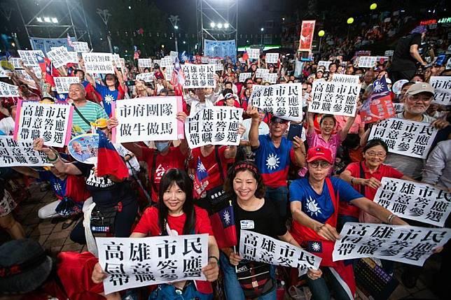 韓國瑜選總統先辭職?他轟:不要以為藍營吃素的