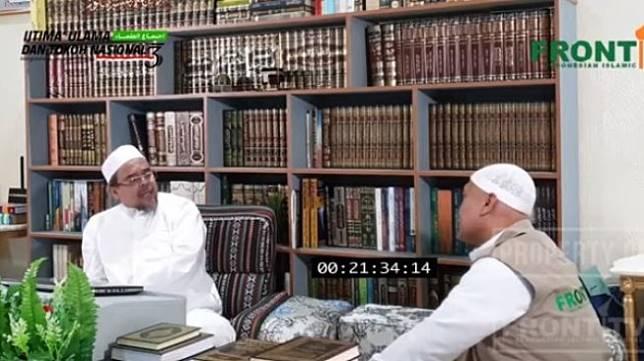 Video sambutan Rizieq Shihab di Ijtima Ulama III (Youtube/Front Tv)