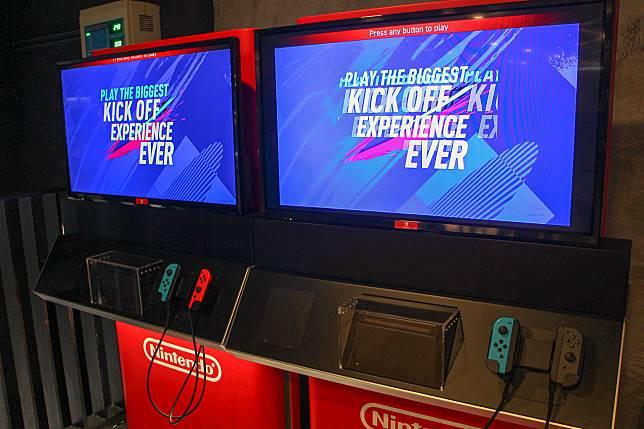 還有兩部Switch,玩家可以隨時walk-in挑機。