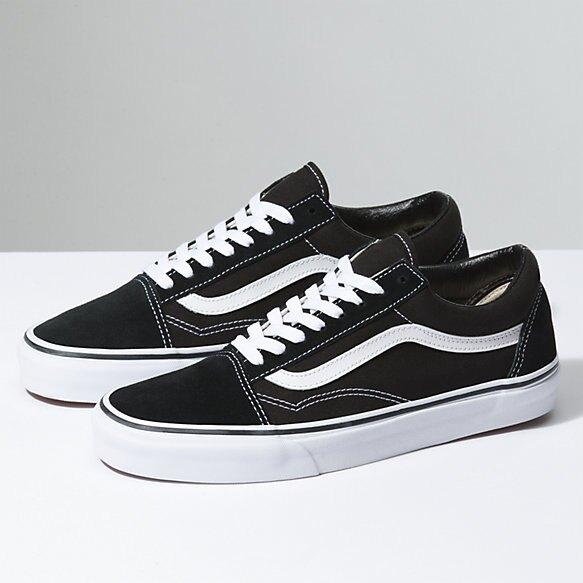 VANSOld Skool 基本款 黑 經典款 休閒鞋 男女 專櫃價2380 VN000D3HY28(palace store)