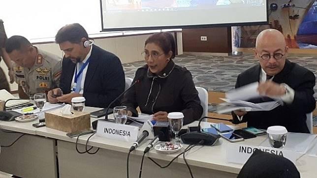 Menteri Kelautan dan Perikanan Susi Pudjiastuti. (Suara.com/Achmad Fauzi)