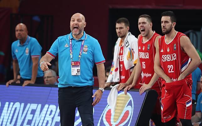 塞爾維亞主帥 Sasha Djordjevic,對球隊很有信心,認為塞爾維亞有能力擊敗美國,進而拿下世界盃冠軍(圖/達志影像)