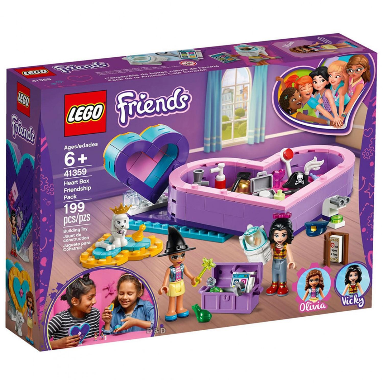 建構式積木,從遊戲中培養邏輯思考。培養3D空間概念及手眼協調能力。角色互動激發孩子創意力、故事力。打造女孩心中夢幻的友誼基地;帶著這兩組樂高® Friends 心盒,在旅途中與奧麗薇亞和維琪 (Vic