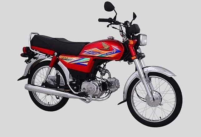 Honda CD70 alias Honda Win Pakistan yang masih dijual hingga tahun 2019