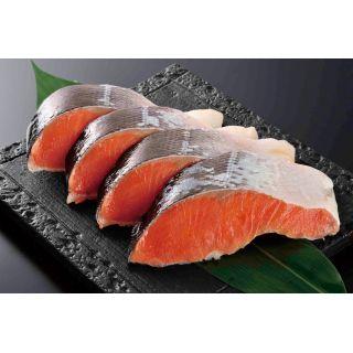 原料原産地:チリ 塩銀鮭(甘塩味)(養殖)切身