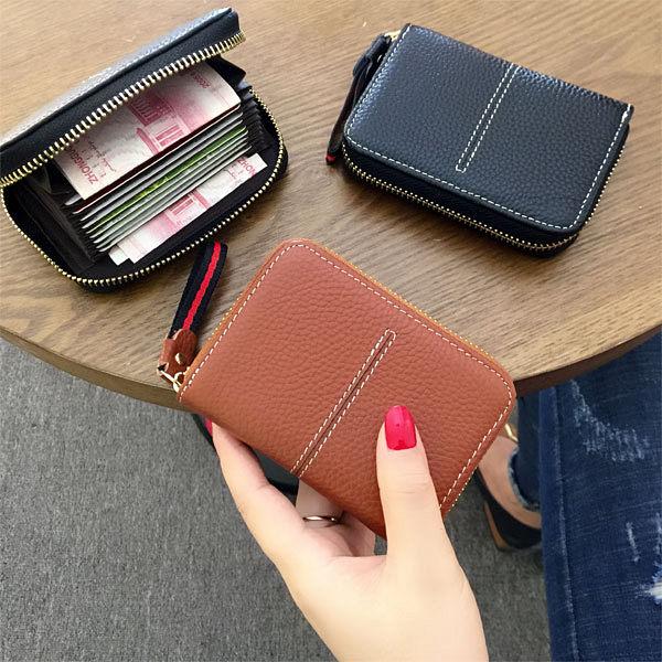 卡包卡包女正韓可愛個性皮質卡夾多卡位卡片包迷你小錢包駕照