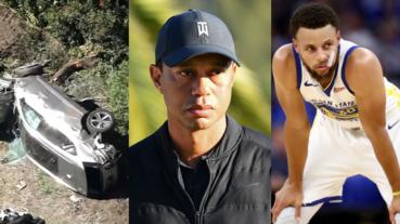 體壇噩耗!高爾夫傳奇老虎伍茲嚴重車禍遭粉碎性骨折,Curry 發文祈禱祝福:上帝會掌控一切!