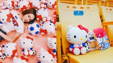 最萌守球員 Hello Kitty!威秀影城 Unicorn 跟全民一起瘋足球推出「Hello Kitty 瘋世足造型爆米花桶」
