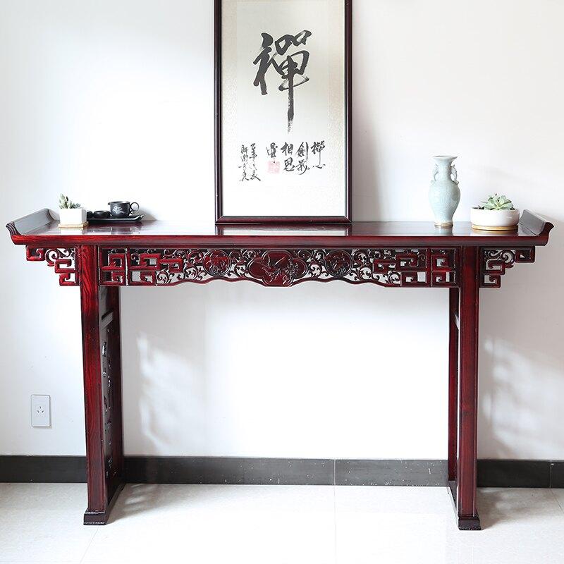 神桌 條案供桌佛台家用經濟型中式神案供奉台神龕客廳佛桌香案中堂條几T