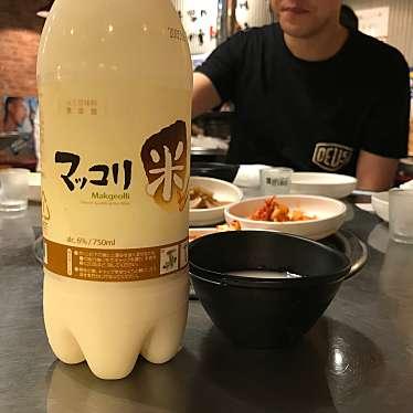 実際訪問したユーザーが直接撮影して投稿した歌舞伎町韓国料理赤い屋台の写真