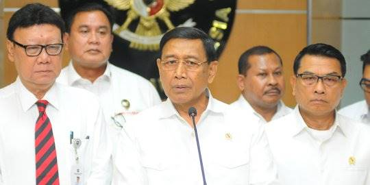 Rapat Koordinasi Keamanan Pascapemilu. ©Liputan6.com/Angga Yuniar