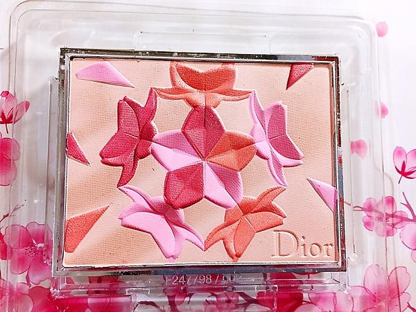 Dior迪奧迪奧雪晶靈櫻花粉頰彩 (特別限量版) 001 百貨公司專櫃貨