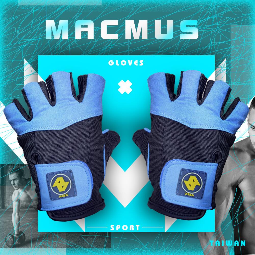 掌心高彈性綿加厚15% • 握感舒適更加吸汗 • 手掌處加強護墊,保護手掌免於受傷 ----------------------------------------------------------