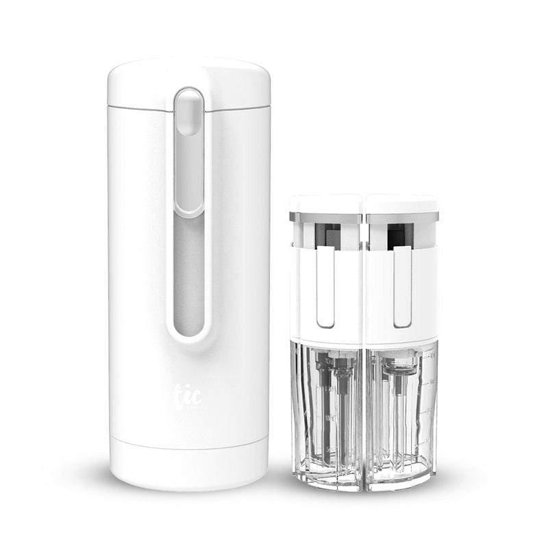 【預購】旅行分裝收納瓶 V2.0- 保養組精選套裝 白色