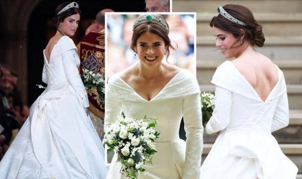 Cantik dan Anggun, Ini Gaun Pernikahan Putri Eugenie Rancangan Desainer Inggris Peter Pilloto