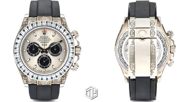 MAD Paris 打造奢華 Rolex Daytona 定製腕錶!