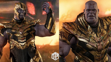 Hot Toys 將推出 1:6 比例 Thanos 戰損版珍藏人偶!