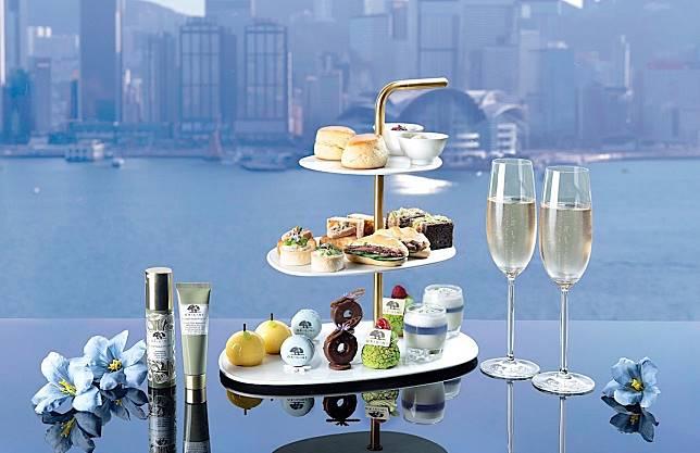 據說食完會變美的tea set。