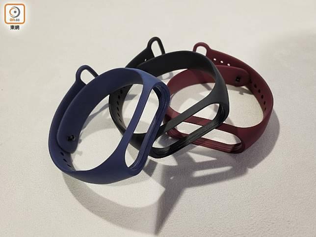 可以兼容小米手環3錶帶,上代用家實讚好。(林子聰攝)