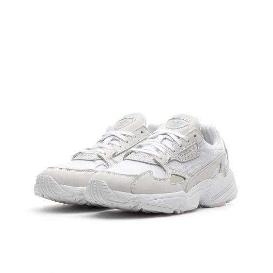 下標前請先詢問庫存 Adidas Originals Falcon 全白 老爹鞋 復古 休閒 慢跑鞋 B28128 尺寸:22.5-25CM 定價:3690 售價:3200