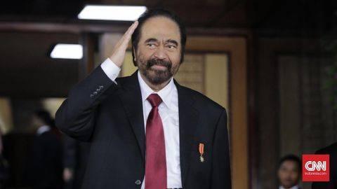 Paloh Ungkap Alasan Tak Undang Jokowi Tapi Hadirkan Anies
