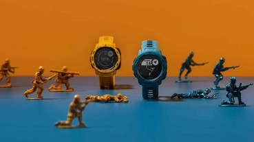 Garmin智慧腕錶再進擊 潮流軍格 Instinct 系列「硬似坦克」 新錶解構軍風潮玩配色
