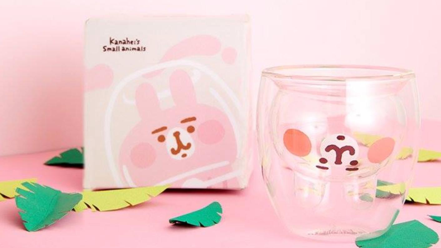 卡娜赫拉迷別錯過~史上最萌「兔兔雙層玻璃杯」絕對收藏!