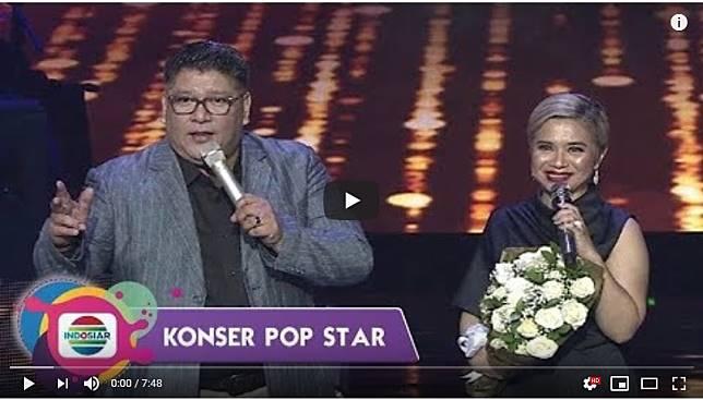 Tampilkan Ciuman Bibir Dua Artis Ini Konser Pop Star Indosiar