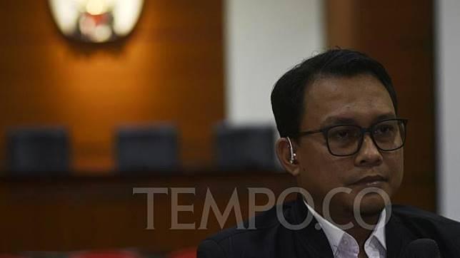 Juru bicara KPK, Ali Fikri di gedung KPK, Jakarta, Kamis, 23 Januari 2020. TEMPO/Imam Sukamto