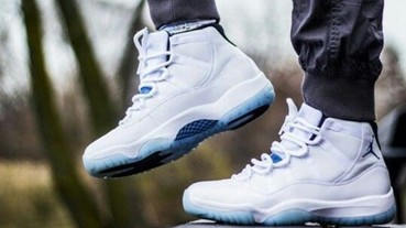 "Nike光賣Air Jordan 11 ""Legend Blue"" 進帳居然高達 ______ ?"