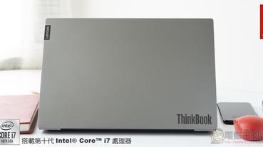 最佳工作夥伴 Lenovo ThinkBook 14 / 15 開箱體驗 :讓你的選擇面面俱到 (評測 評價)