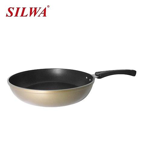 鍋身:耐磨,不沾塗層,耐高溫n鍋蓋:強化玻璃n鍋柄:符合人體工學電木手柄