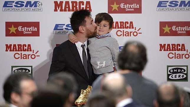 Lionel Messi, Sepatu Emas,