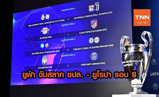 ยูฟ่า ประกบคู่ แชมเปียนส์ ลีก, ยูโรปา รอบ 8 ทีม