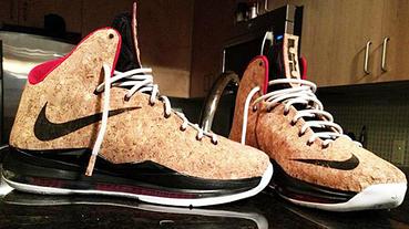 """教你製作一雙 Nike LeBron 10 """"Cork"""" 軟木塞版本!"""